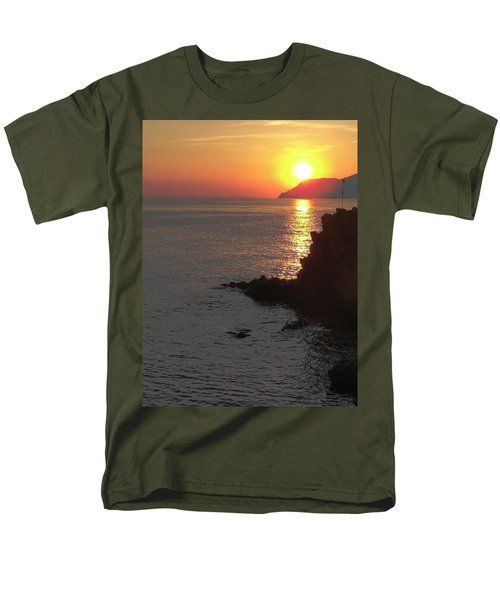 Men's T-Shirt  (Regular Fit) featuring the photograph Sunset Reflection by Natalie Ortiz