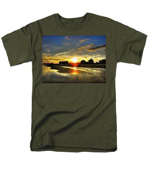 Men's T-Shirt  (Regular Fit) featuring the photograph Sunset by Savannah Gibbs