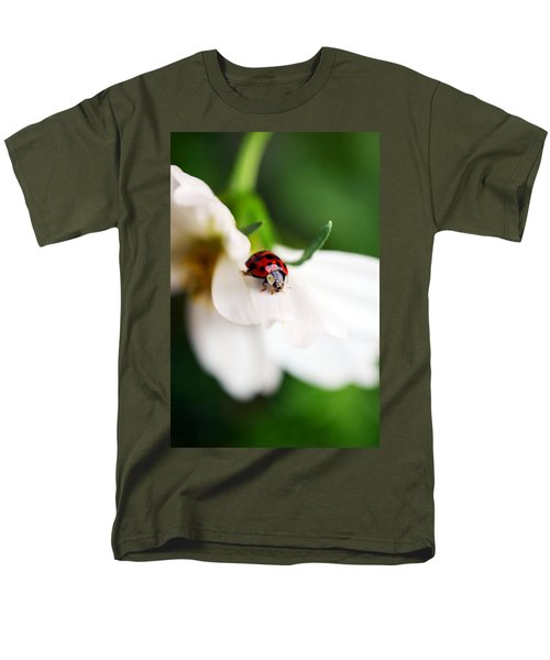 Sunshine And Petal Rest Men's T-Shirt  (Regular Fit)