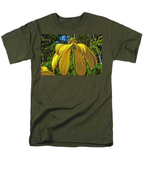 Men's T-Shirt  (Regular Fit) featuring the photograph Sunshine On My Shoulders by Tikvah's Hope