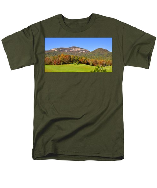 Table Rock In Autumn Men's T-Shirt  (Regular Fit) by Lydia Holly