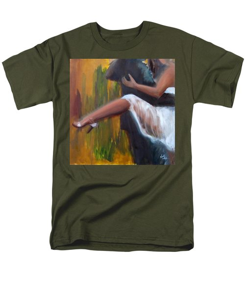 Tango On The Piazza Men's T-Shirt  (Regular Fit) by Keith Thue
