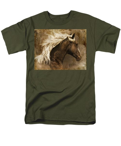 Men's T-Shirt  (Regular Fit) featuring the photograph Taos by Priscilla Burgers