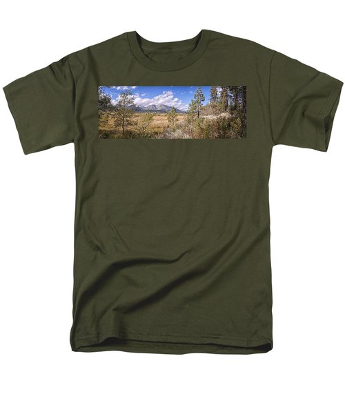 Men's T-Shirt  (Regular Fit) featuring the photograph Taylor Creek Panorama by Jim Thompson