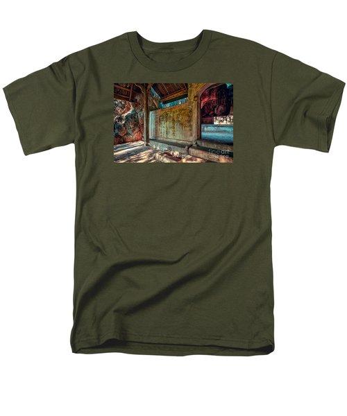 Temple Cave Men's T-Shirt  (Regular Fit) by Adrian Evans