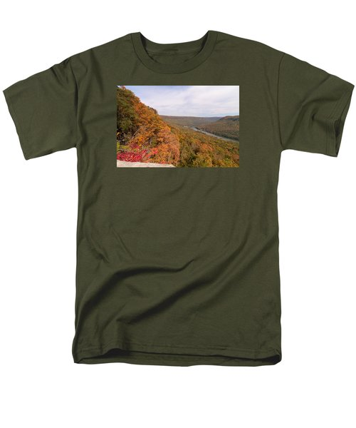 Men's T-Shirt  (Regular Fit) featuring the photograph Tennessee Riverboat Fall by Paul Rebmann