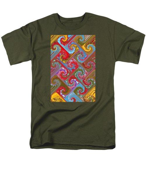 Tessellation Men's T-Shirt  (Regular Fit) by Mariarosa Rockefeller
