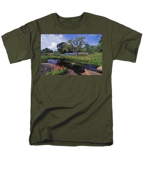 Texas Hill Country - Fs000056 Men's T-Shirt  (Regular Fit) by Daniel Dempster