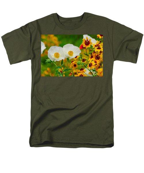 Texas Wildflowers Men's T-Shirt  (Regular Fit) by Lynn Bauer