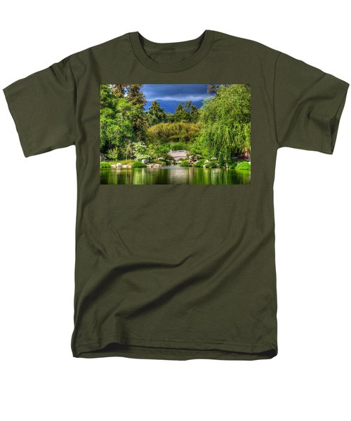 The Bridge 12 Men's T-Shirt  (Regular Fit) by Richard J Cassato