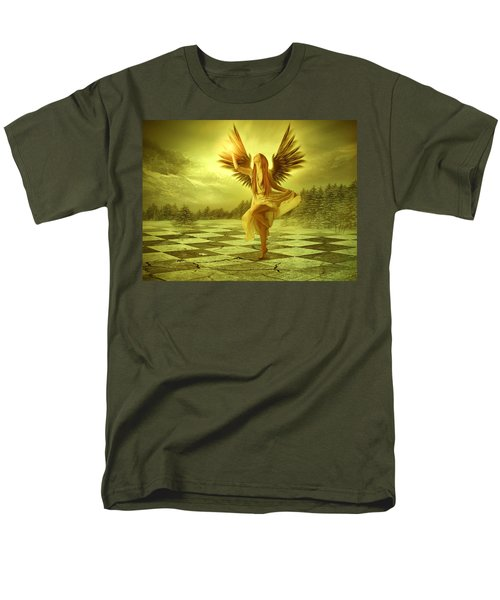 Men's T-Shirt  (Regular Fit) featuring the photograph The Calling by Ester  Rogers