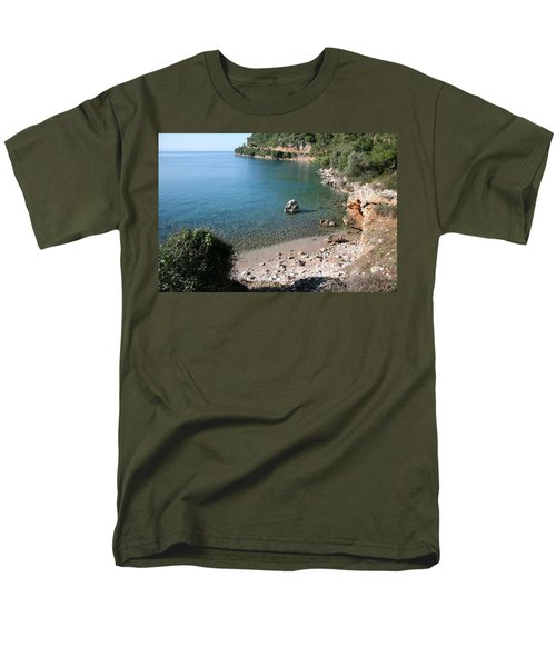 Men's T-Shirt  (Regular Fit) featuring the photograph The Coast To Oren  by Tracey Harrington-Simpson