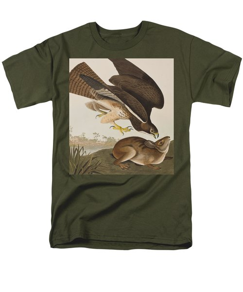 The Common Buzzard Men's T-Shirt  (Regular Fit) by John James Audubon