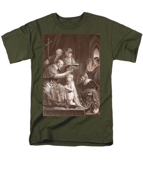 The Coronation Of Henry Vi, Engraved Men's T-Shirt  (Regular Fit) by John Opie