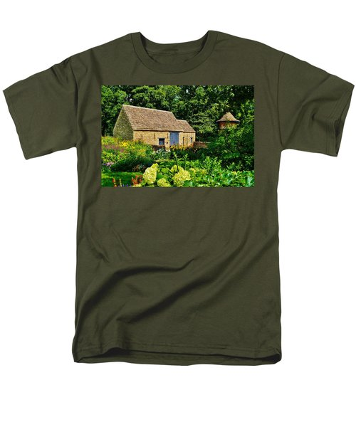 The Cotswald Barn And Dovecove Men's T-Shirt  (Regular Fit) by Daniel Thompson