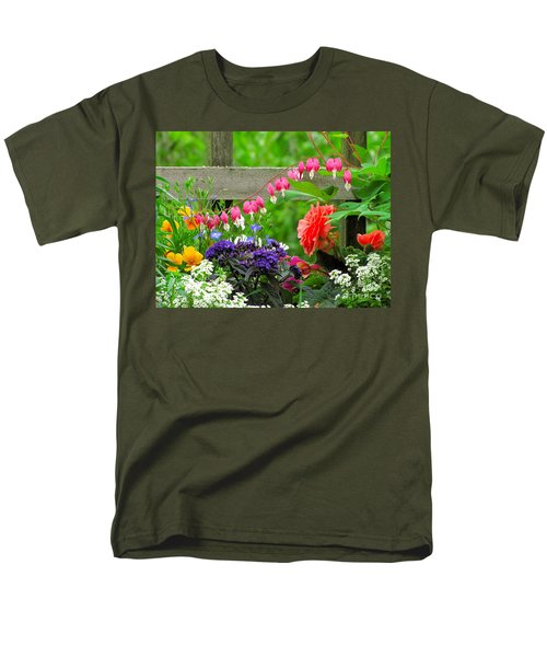 Men's T-Shirt  (Regular Fit) featuring the photograph The Dance Of Spring by Sean Griffin