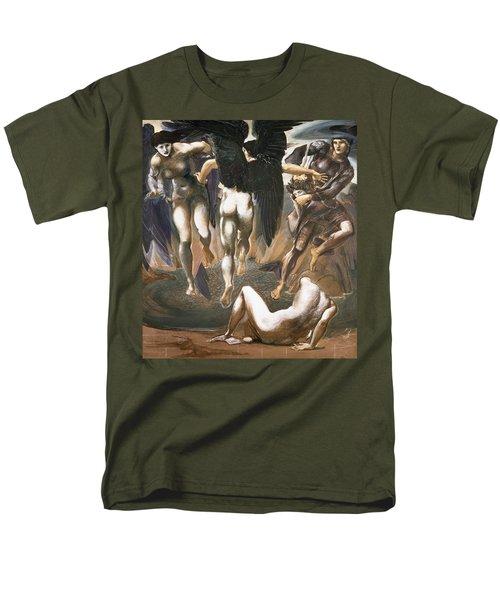 The Death Of Medusa II, 1882 Men's T-Shirt  (Regular Fit) by Sir Edward Coley Burne-Jones