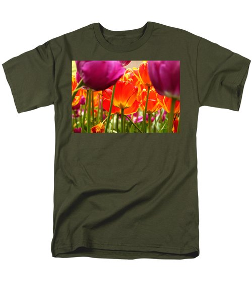 The Drooping Tulip Men's T-Shirt  (Regular Fit) by Catie Canetti