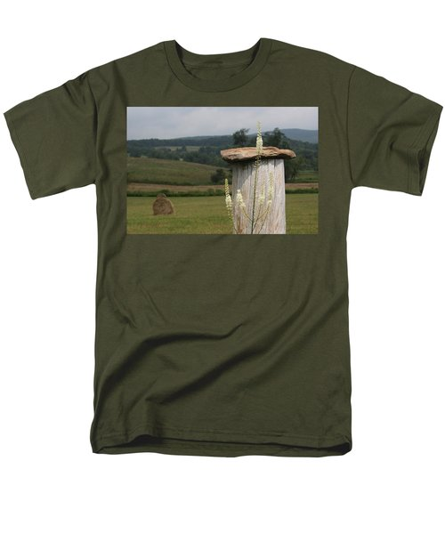 Fall Harvest Men's T-Shirt  (Regular Fit) by Yvonne Wright