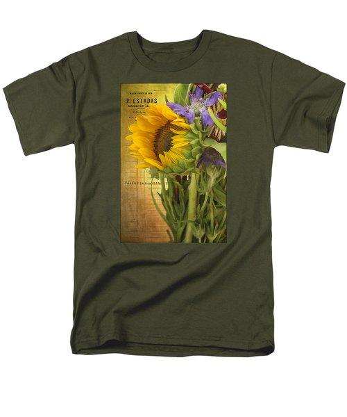The Flower Market Men's T-Shirt  (Regular Fit) by Priscilla Burgers