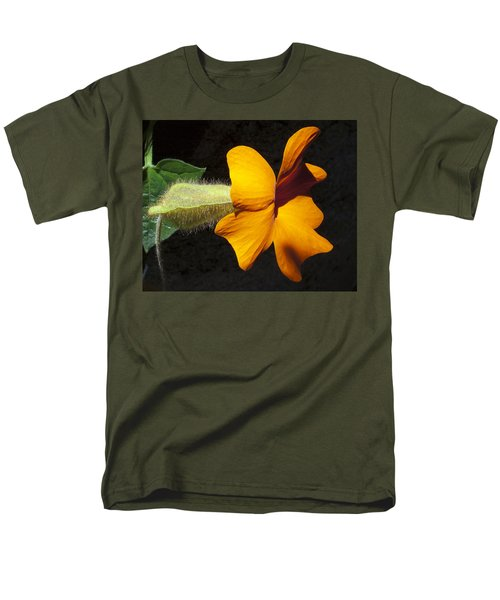 Men's T-Shirt  (Regular Fit) featuring the photograph The Force That Through The Green Fuse ... by Joe Schofield