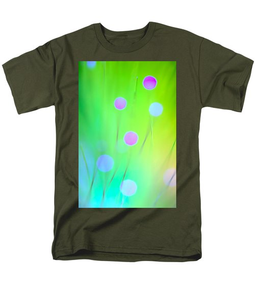 Men's T-Shirt  (Regular Fit) featuring the photograph The Garden by Dazzle Zazz