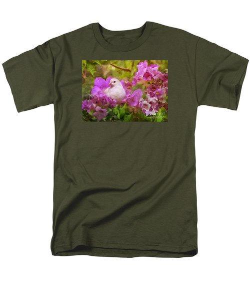 The Garden Of White Dove Men's T-Shirt  (Regular Fit) by Olga Hamilton