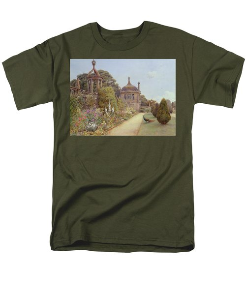 The Gardens At Montacute In Somerset Men's T-Shirt  (Regular Fit) by Ernest Arthur Rowe