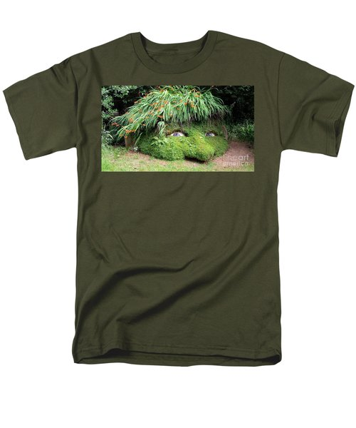 The Giant's Head Heligan Cornwall Men's T-Shirt  (Regular Fit) by Richard Brookes