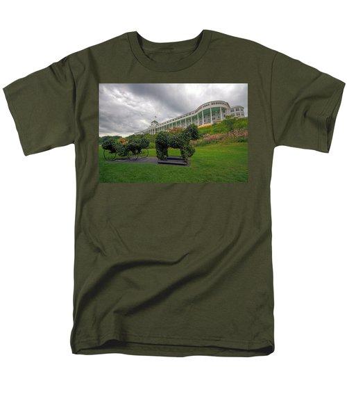 The Grand Hotel Mackinac Island Men's T-Shirt  (Regular Fit) by Jerry Gammon