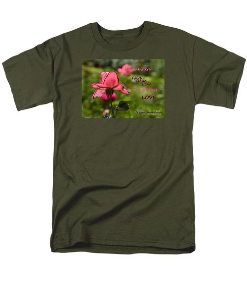 Men's T-Shirt  (Regular Fit) featuring the photograph The Greatest Love by Larry Bishop