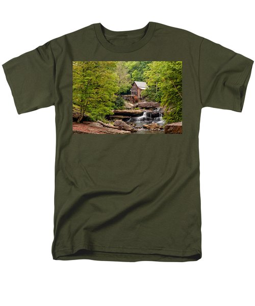 The Grist Mill Men's T-Shirt  (Regular Fit) by Steve Harrington