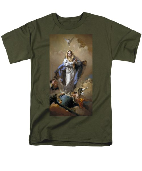 The Immaculate Conception Men's T-Shirt  (Regular Fit) by Giovanni Battista Tiepolo