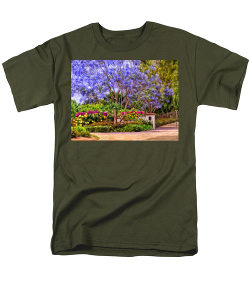The Jacaranda Men's T-Shirt  (Regular Fit) by Michael Pickett