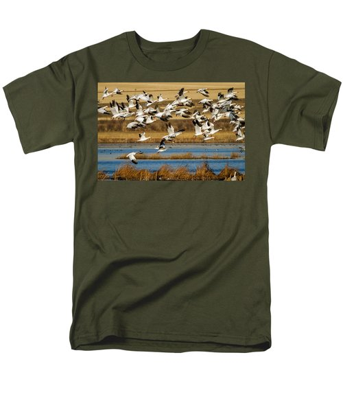 Men's T-Shirt  (Regular Fit) featuring the photograph The Journey by Jack Bell