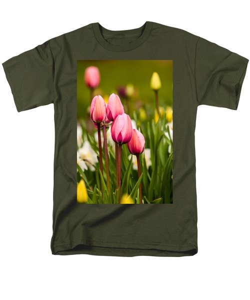 The Last Drops Of Dew Men's T-Shirt  (Regular Fit) by Melinda Ledsome