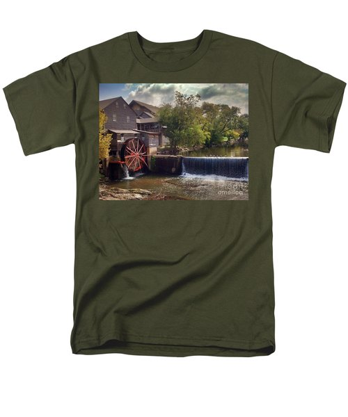 The Old Mill Men's T-Shirt  (Regular Fit) by Janice Spivey