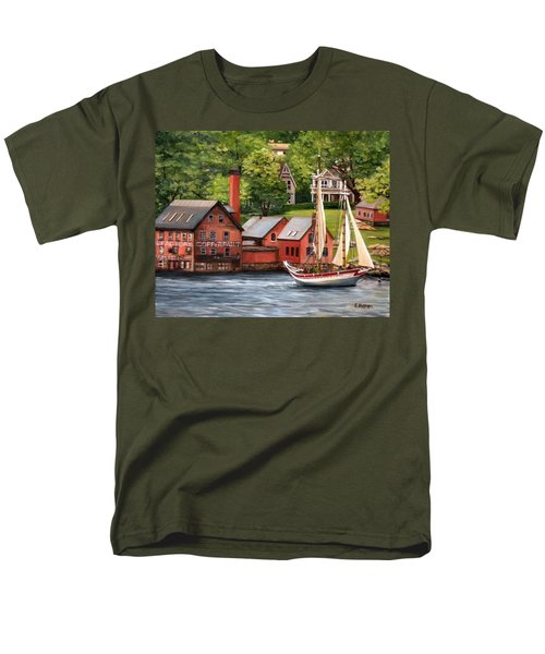 The Paint Factory And The Ardelle Men's T-Shirt  (Regular Fit) by Eileen Patten Oliver