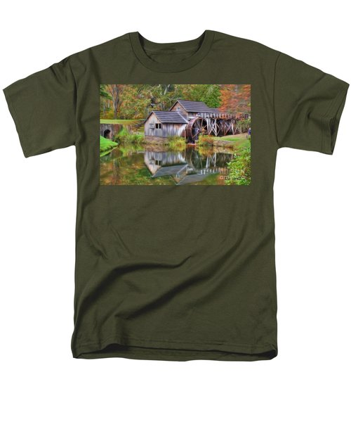 The Painted Mill Men's T-Shirt  (Regular Fit) by Dan Stone