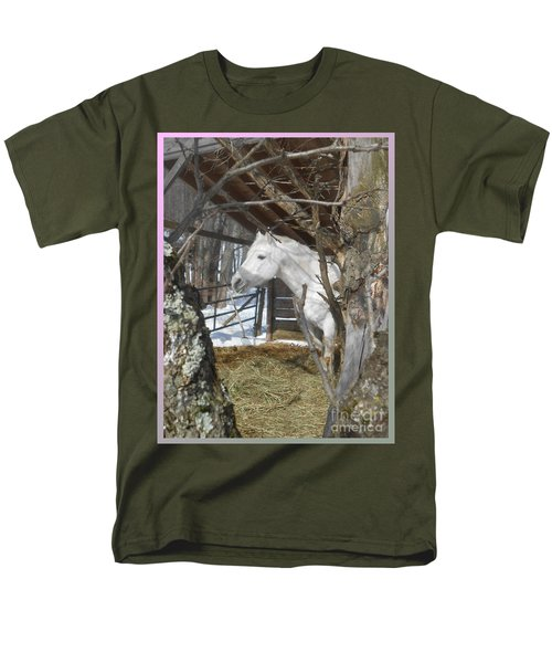 The Paso Fino Stallion At Home Men's T-Shirt  (Regular Fit) by Patricia Keller