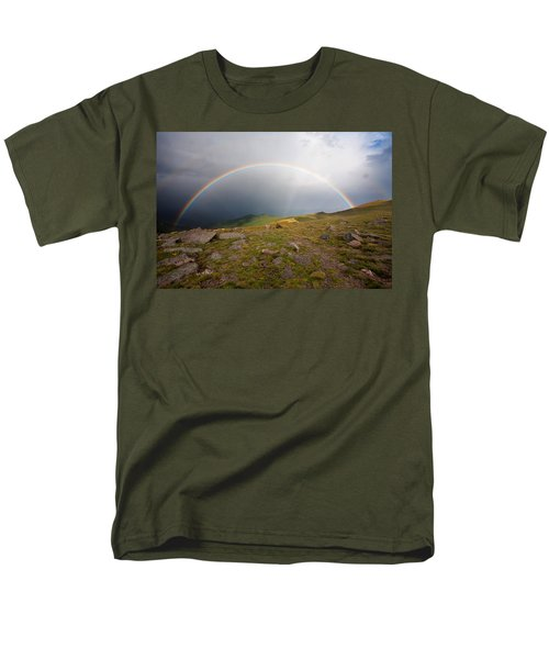 Men's T-Shirt  (Regular Fit) featuring the photograph The Promise by Jim Garrison