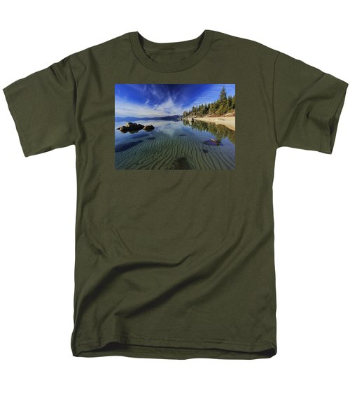 Men's T-Shirt  (Regular Fit) featuring the photograph The Sands Of Time by Sean Sarsfield