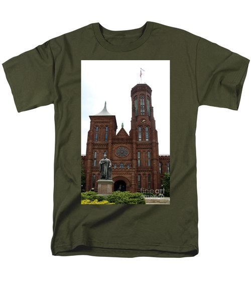 The Smithsonian - Washington Dc Men's T-Shirt  (Regular Fit) by Christiane Schulze Art And Photography