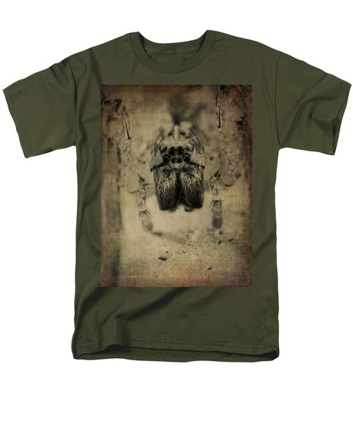 The Spider Series Xiii Men's T-Shirt  (Regular Fit) by Marco Oliveira