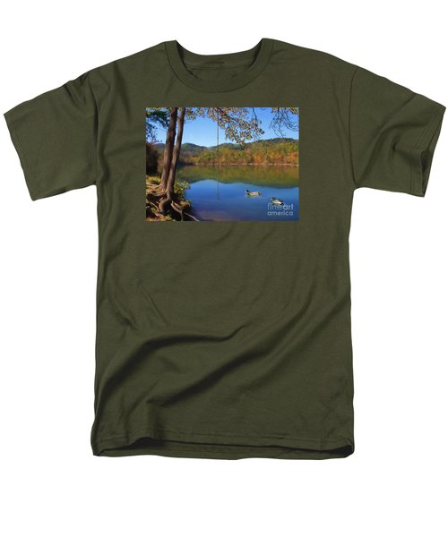 The Swimming Hole Men's T-Shirt  (Regular Fit) by Lena Auxier