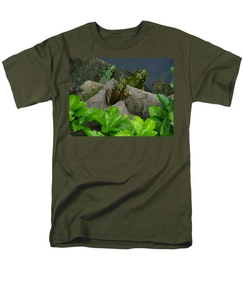 Men's T-Shirt  (Regular Fit) featuring the photograph The Three Amigos by Raymond Salani III