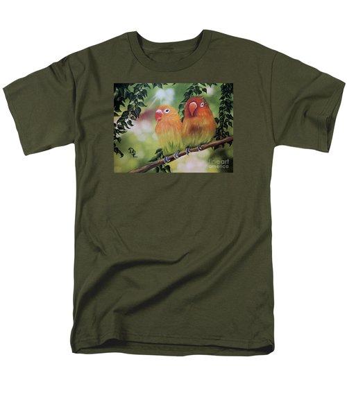 The Tweetest Love Men's T-Shirt  (Regular Fit) by Dianna Lewis
