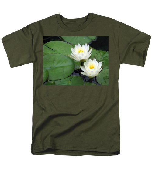 Men's T-Shirt  (Regular Fit) featuring the photograph The Water Lilies Collection - 06 by Pamela Critchlow