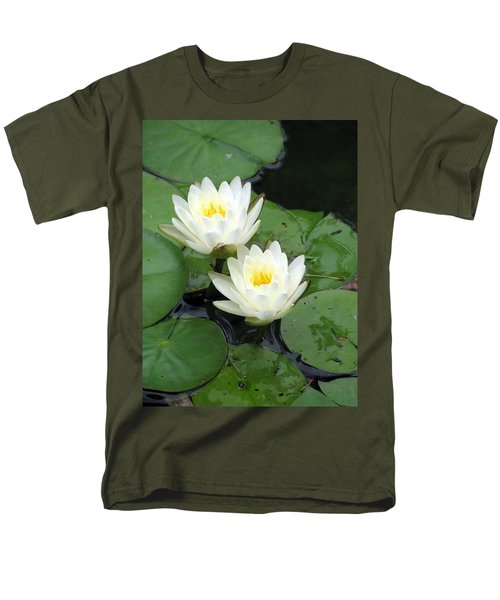 Men's T-Shirt  (Regular Fit) featuring the photograph The Water Lilies Collection - 07 by Pamela Critchlow