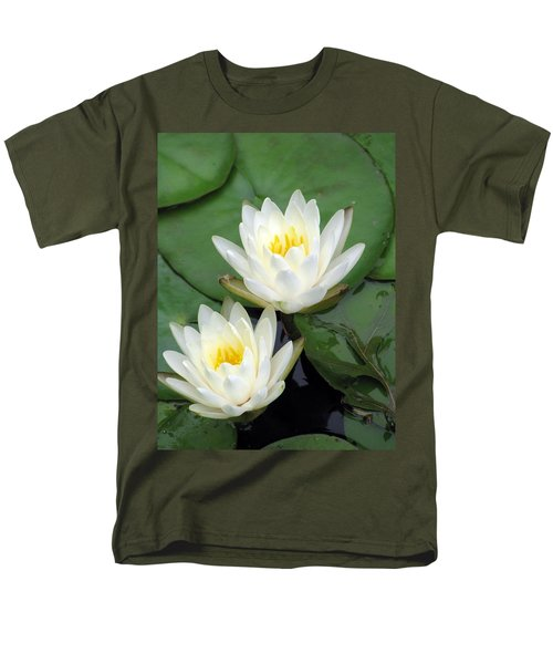 Men's T-Shirt  (Regular Fit) featuring the photograph The Water Lilies Collection - 12 by Pamela Critchlow